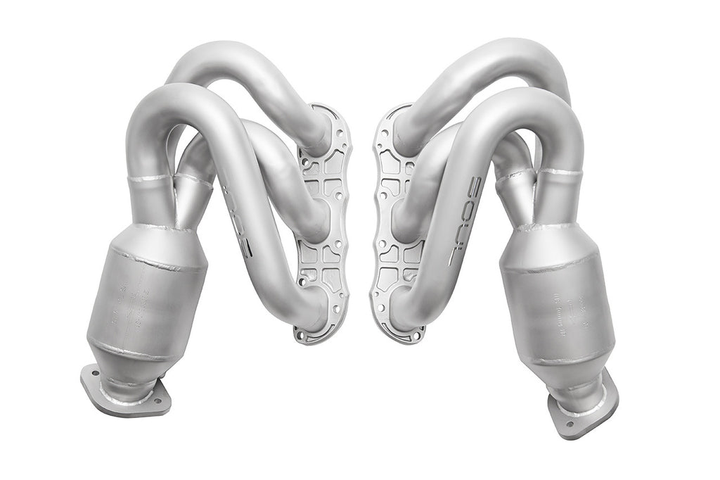 Soul Performance Products - Street Headers w/ HJS 200 Cell Cats (981 Cayman / Boxster)