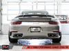 AWE Tuning Performance Exhaust System (991.2 Turbo) - Flat 6 Motorsports - Porsche Aftermarket Specialists