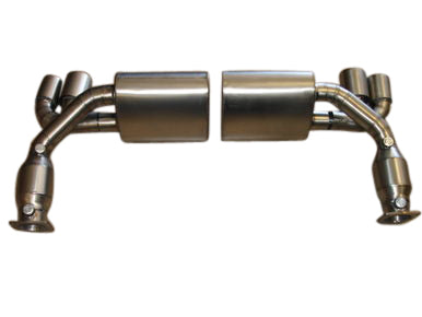 Top Speed Pro 1 Titanium Exhaust System (996 Turbo)