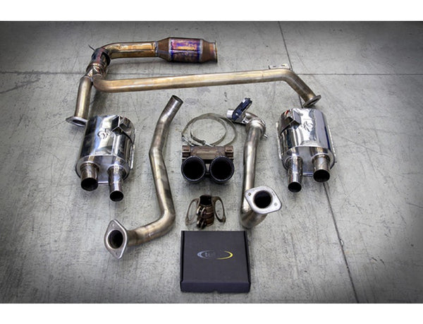 Tubi Style Exhaust System (Cayman / Boxster 718)