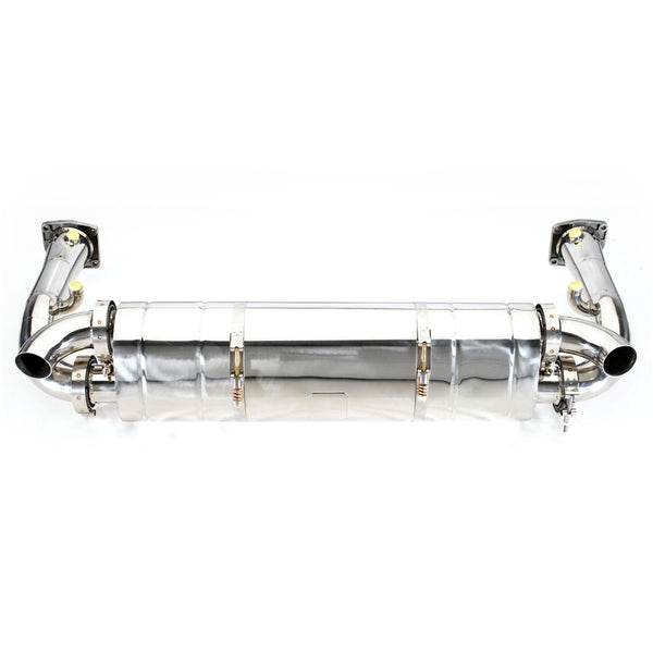 Tubi Style Exhaust System (997.1 Turbo) - Flat 6 Motorsports - Porsche Aftermarket Specialists