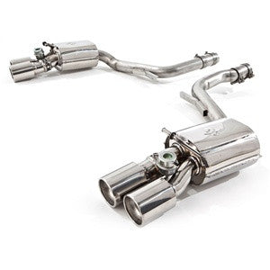 Tubi Style Exhaust System w/ Valves (Panamera Turbo) - Flat 6 Motorsports - Porsche Aftermarket Specialists