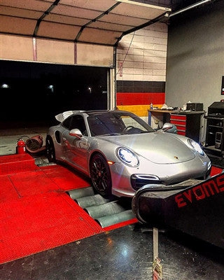 EVOMSit Software Tuning (991.1 Turbo) - Flat 6 Motorsports - Porsche Aftermarket Specialists