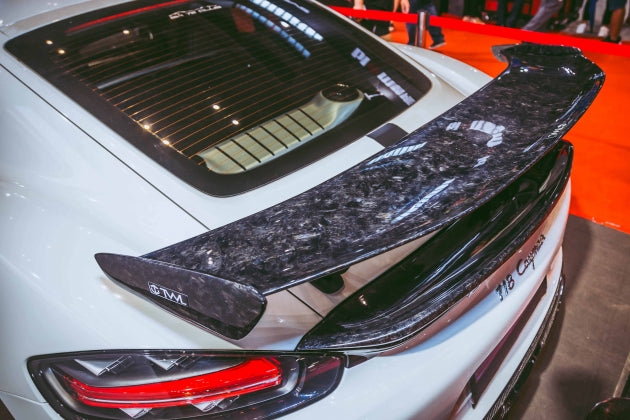 TWL Carbon - Forged Carbon GT4 Style Spoiler (Cayman / Boxster 718)