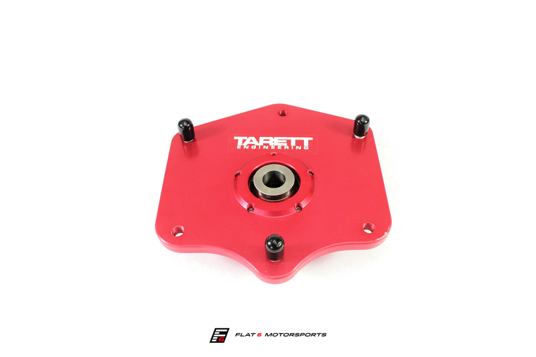 Tarett Engineering Front Monoball Camber Plates (Cayman / Boxster 987)