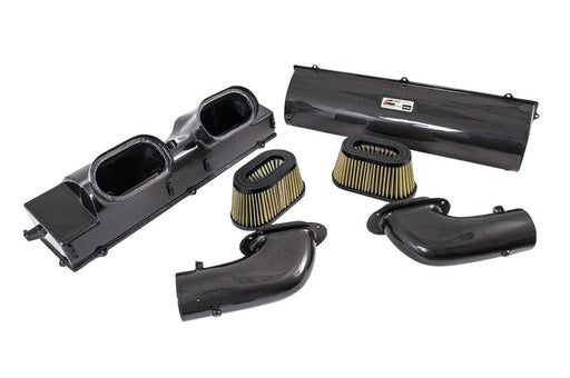 AWE Tuning S-FLO Carbon Intake (991 Turbo) - Flat 6 Motorsports - Porsche Aftermarket Specialists