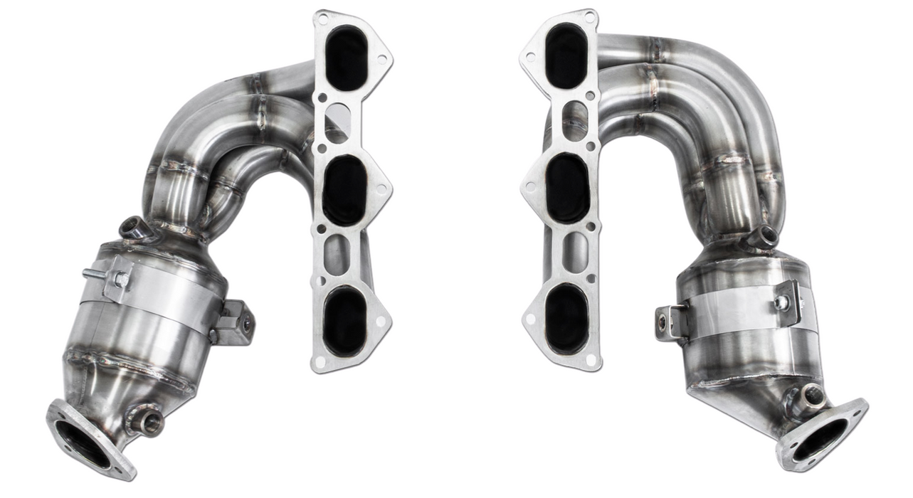 Cargraphic Long Tube Sport Headers (718 GT4)