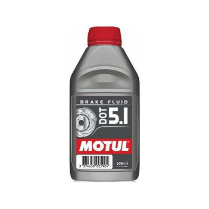 Motul 100% Synthetic Brake Fluid DOT 5.1 (0.5L) - Flat 6 Motorsports - Porsche Aftermarket Specialists