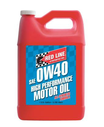 Redline 0W40 100% Synthetic Oil - QTY-1 Gallon (4 Quarts) -
