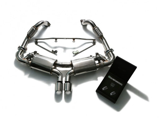 Armytrix Valvetronic Cat-Back Exhaust System (Cayman / Boxster 981) - Flat 6 Motorsports - Porsche Aftermarket Specialists