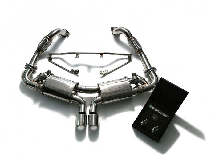 Armytrix Valvetronic Cat-Back Exhaust System (Cayman / Boxster 718)
