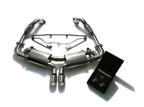 Armytrix Valvetronic Cat-Back Exhaust System (Cayman / Boxster 981)
