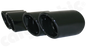 Cargraphic Quad Exhaust Tips (997.1 Carrera)