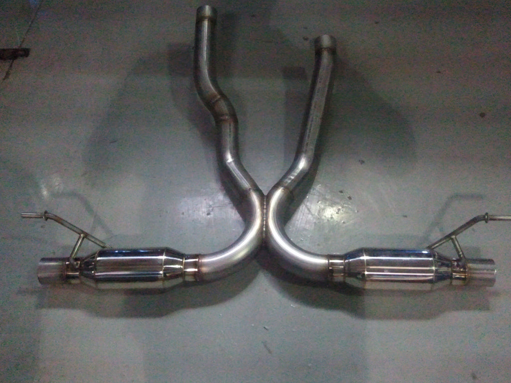 Agency Power Super Sport Exhaust System (Cayenne / S 958)