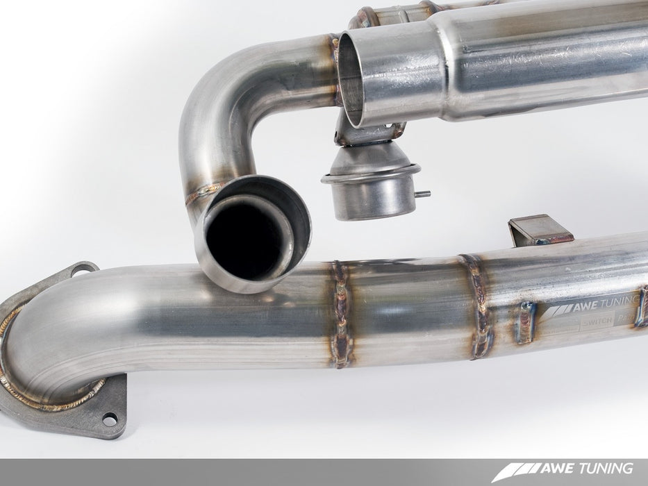 AWE Tuning SwitchPath Exhaust System (991.1 Carrera) - Flat 6 Motorsports - Porsche Aftermarket Specialists