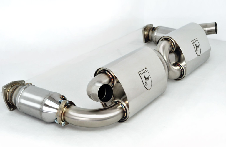 Kline Innovation Exhaust System (997.1 Turbo) - Flat 6 Motorsports - Porsche Aftermarket Specialists