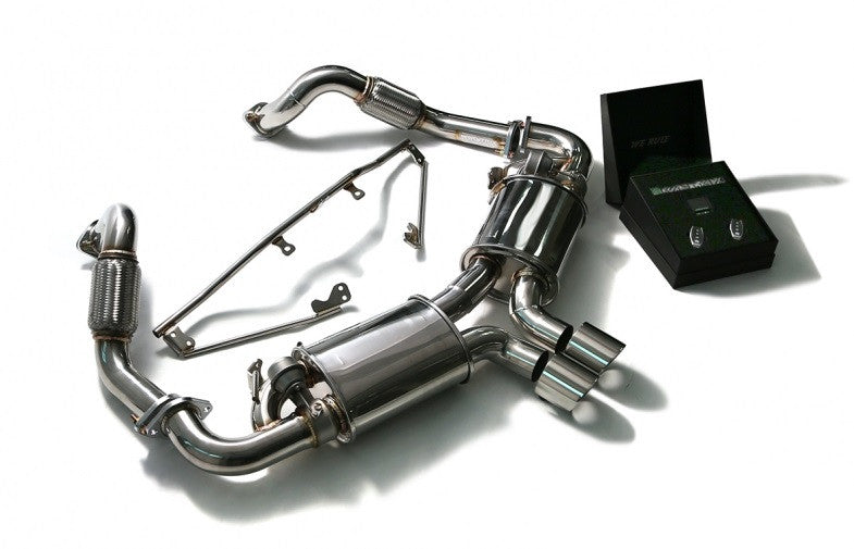 Armytrix Valvetronic Cat-Back Exhaust System (Cayman / Boxster 718) - Flat 6 Motorsports - Porsche Aftermarket Specialists