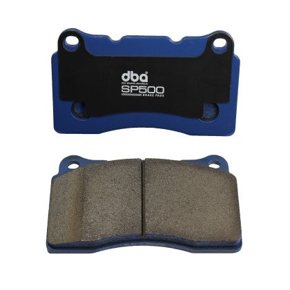 DBA SP500 Street Performance Brake Pads - Front (987 Cayman S & Boxster S) - Flat 6 Motorsports - Porsche Aftermarket Specialists
