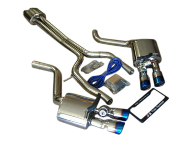 Top Speed Pro 1 Catback Exhaust System w/ Valves (970 Panamera)