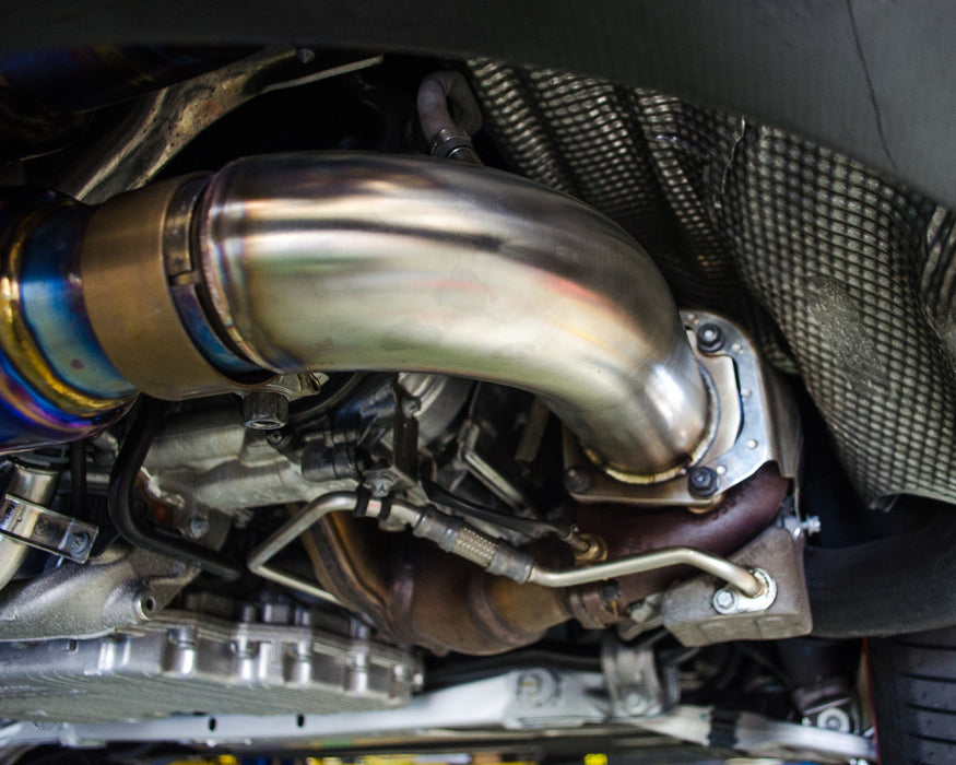 Agency Power Cat Delete Race Pipes (991 Turbo) - Flat 6 Motorsports - Porsche Aftermarket Specialists