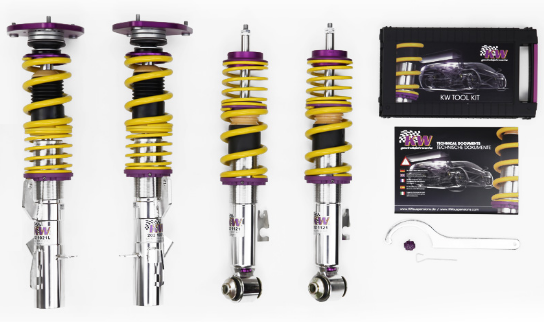 KW Clubsport Coilover Kit (987 Boxster / Cayman) - Flat 6 Motorsports - Porsche Aftermarket Specialists