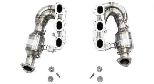 Cargraphic New Generation Long Tube Manifold Set (Cayman / Boxster 987.2)