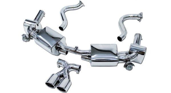 Cargraphic Sport Exhaust System w/ Exhaust Valves (Cayman / Boxster 981)