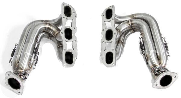 Cargraphic Long Tube Racing Headers (Cayman / Boxster 981)