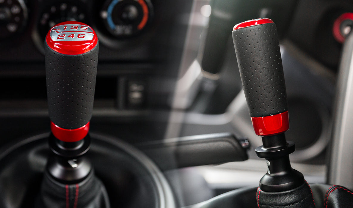 Raceseng Cylix Perforated Leather - Shift Knob