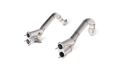 Akrapovic Titanium Race Link Pipes (718 GT4)