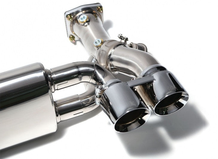 Armytrix Valvetronic Cat-Back Exhaust System (991 Turbo) - Flat 6 Motorsports - Porsche Aftermarket Specialists