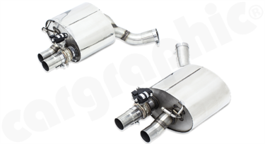 Cargraphic Sport Rear Silencers (971 Panamera Base)