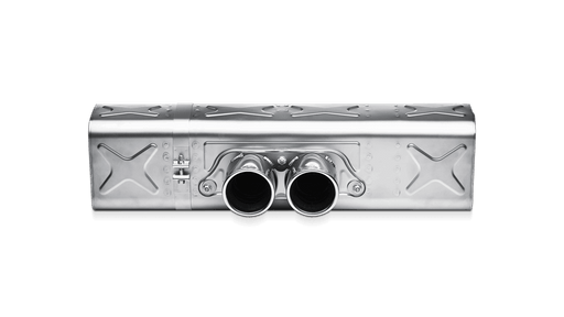 Akrapovic Titanium Center Muffler Slip-On (997 GT3)