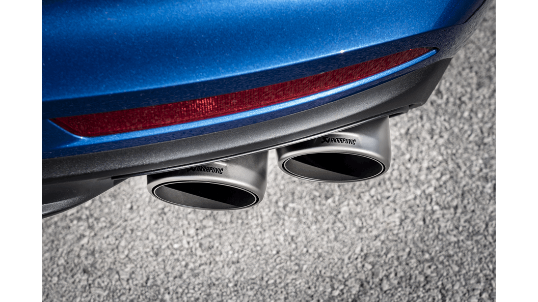 Akrapovic Titanium Cat-Back Exhaust System (Panamera Turbo 971)