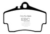 EBC Yellowstuff Rear Brake Pads (997 Carrera S)
