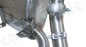 Cargraphic Sport Rear Silencer Set (997.1 Carrera)