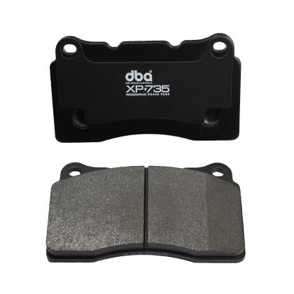 DBA XP+735 Track Performance Brake Pads - Rear (987 Cayman S & Boxster S)