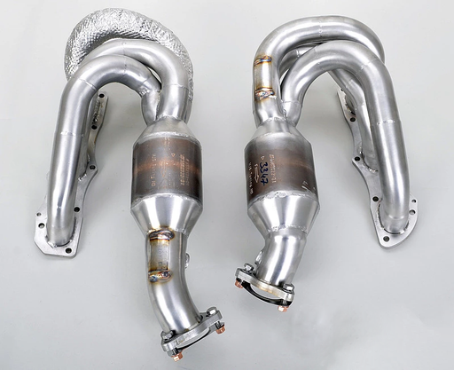 FVD Brombacher Sport Headers w/ HJS 200 Cell Catalysts (Cayman / Boxster 987.2)