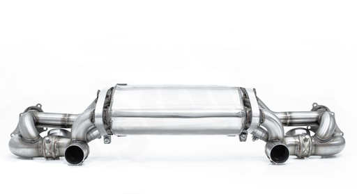 Cargraphic Performance Catback Exhaust w/Valves (718 GT4)