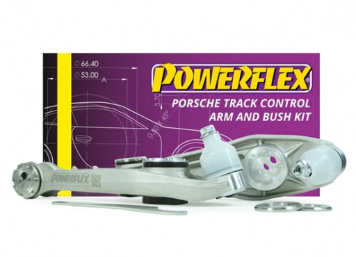 Powerflex Adjustable Track Lower Control Arms (981 Cayman / Boxster)