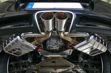 Capristo High Performance Cat Back Valved Exhaust System (Cayman / Boxster 987.2) - Flat 6 Motorsports - Porsche Aftermarket Specialists