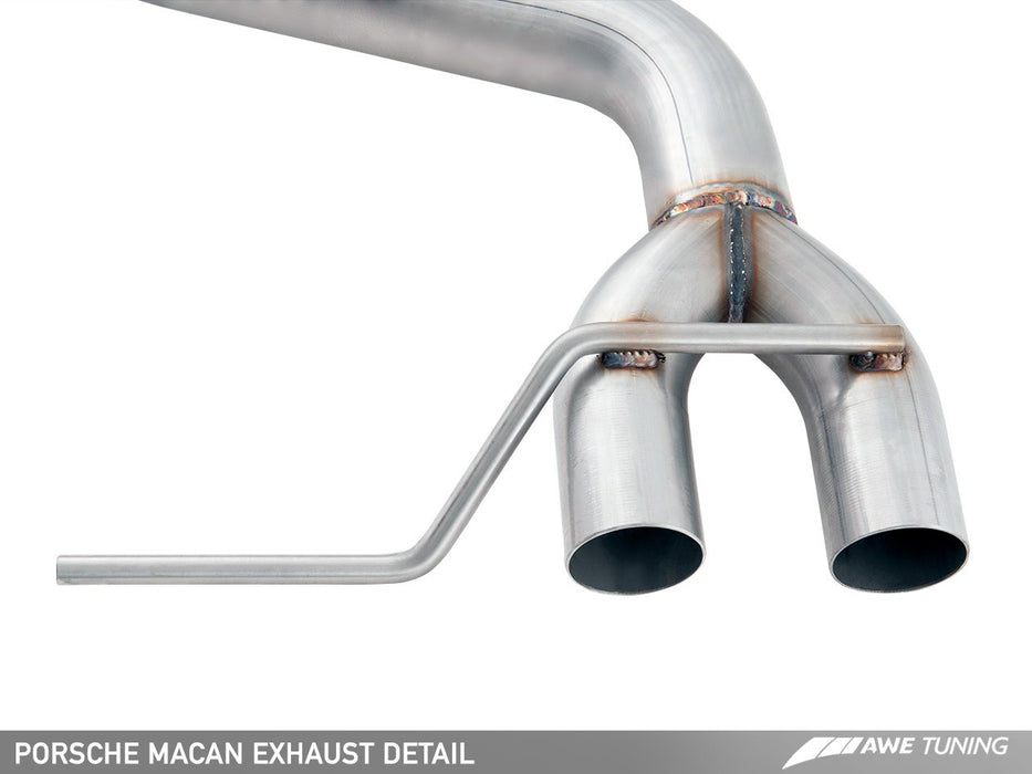 AWE Tuning Exhaust System (Macan S / Macan GTS) - Flat 6 Motorsports - Porsche Aftermarket Specialists