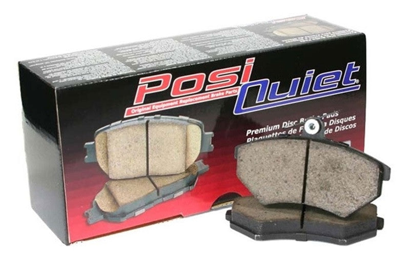 StopTech Posi Quiet Front Brake Pads (Cayenne, Macan, Panamera) - Flat 6 Motorsports - Porsche Aftermarket Specialists