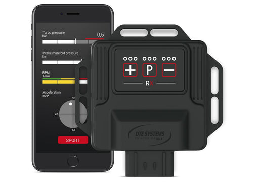 PowerControl RX Module by DTE (Macan S 19+)