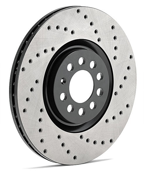 StopTech - Front Drilled Rotor Set (Base Boxster / Cayman)