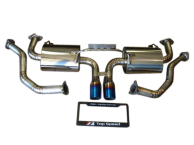 Top Speed Pro 1 Titanium Exhaust System (987.1 Cayman / Boxster)