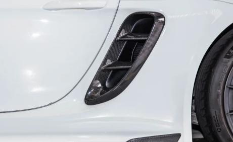 TWL Carbon - Carbon Fiber Intake Vent Covers (Cayman / Boxster 718)