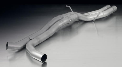 Remus Stainless Steel Connection Tubes with Crossover Tube 70mm (Macan) - Flat 6 Motorsports - Porsche Aftermarket Specialists