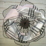 Lady In The Plaid WB Hooded Cowl Scarf
