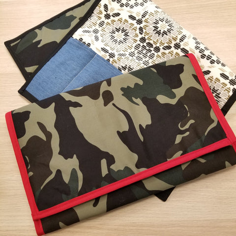Camo Diaper Changing Pad